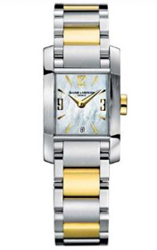 Baume & Mercier Women's Diamant Steel and 18k Gold Watch #8600