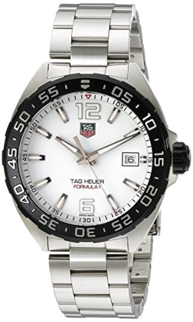 TAG Heuer Men's WAZ1111,BA0875 Formula 1 Stainless Steel Bracelet Watch