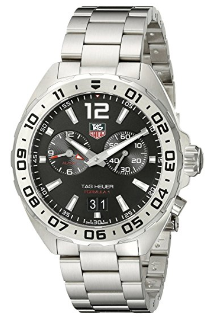 TAG Heuer Men's WAZ111A BA0875 Formula 1 Stainless Steel