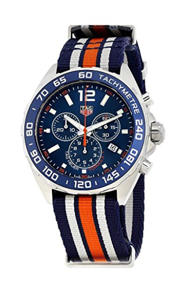 Tag Heuer Formula 1 Blue Chronograph Mens Watch CAZ1014 FC8196